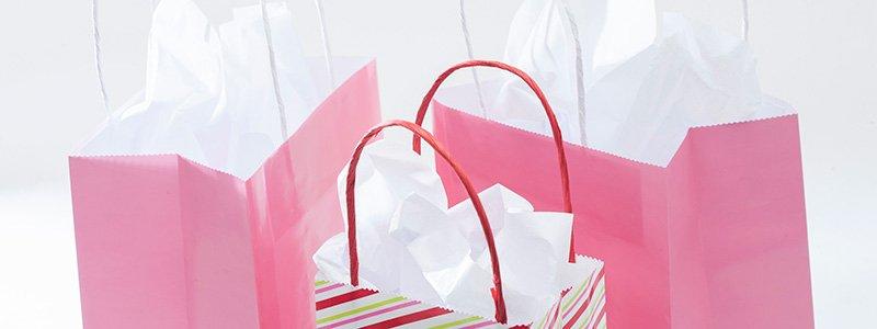 Bolsas de papel personalizables