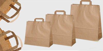 Bolsas de papel Kraft personalizables